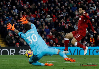 Mo Salah verontschuldigt zich bij de doelman die hij net vier keer passeerde