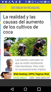 Noticias de Colombia APP- screenshot thumbnail