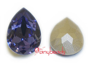 Photo: warovski Crystal Elements 4320 Pear Fancy Stones with setting 18x13mm - Tanzanite http://www.anybeads.com/tanzanite-swarovski-crystal-4320-pear-stones-18x13mm-1pcs-p-2706.html