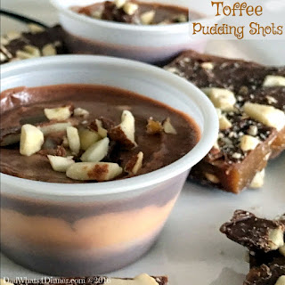 English Toffee Pudding Shots