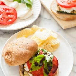 Grilled Zucchini Caprese Sandwich Recipe