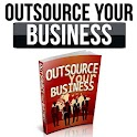 Outsource your business icon