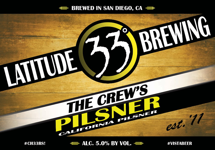 Logo of Latitude 33 The Crew's Pilsner
