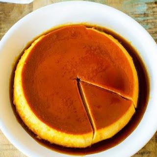 Pumpkin Flan.