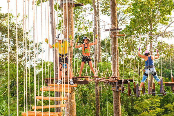 Mind your step in Krabi's FunPark
