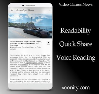 Video Game News - News For Gamers By Xoonity - náhled