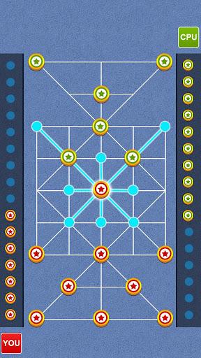 Bead 16 - Tiger Trap ( sholo guti ) Board Game ud83eudde0 1.05 screenshots 13
