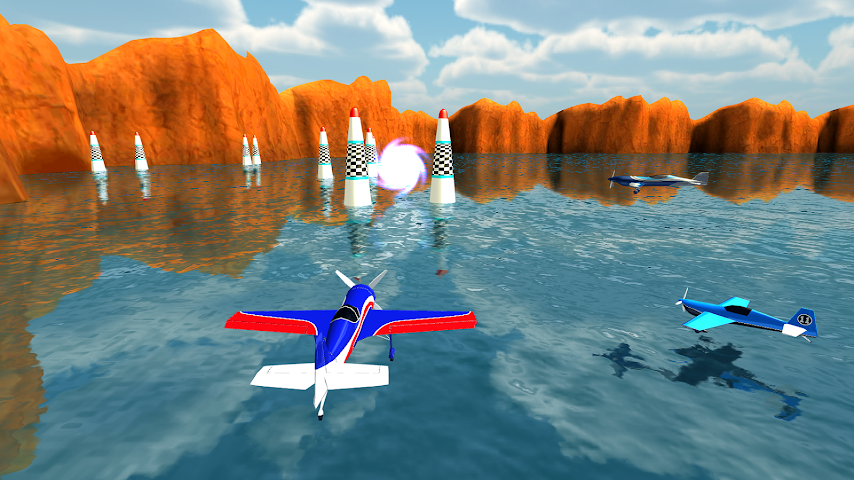 android Air Plane Race Multiplayer Screenshot 2