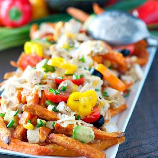 Skinny Chicken Taco Fries.