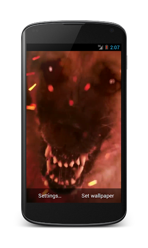 Hellhound Video Wallpaper