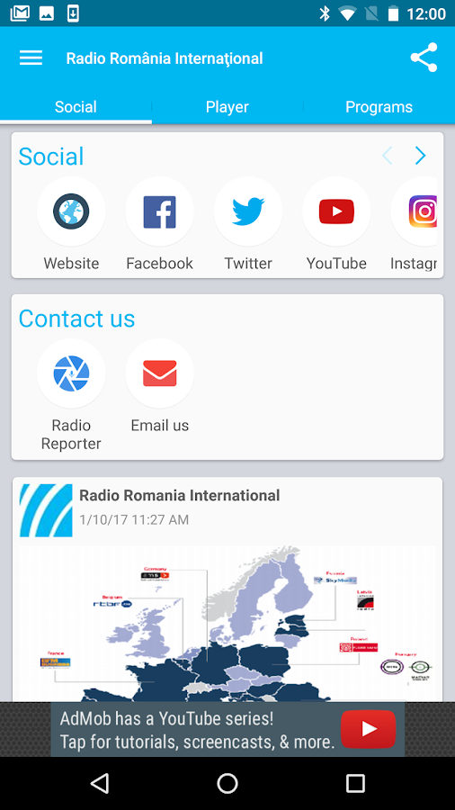 Radio Romania International II- screenshot