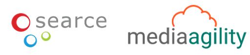 Searce and MediaAgility logo