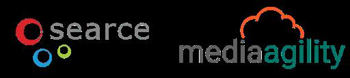 Searce and MediaAgility logo