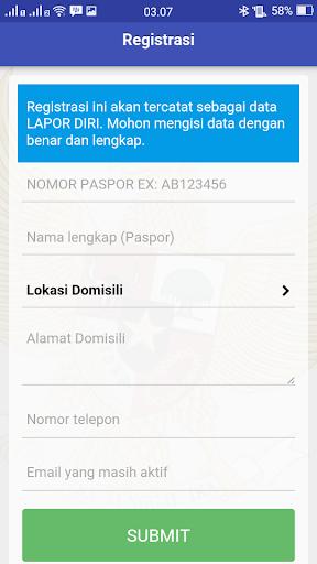 Screenshot for e-Layanan KJRI Hong Kong in Hong Kong Play Store