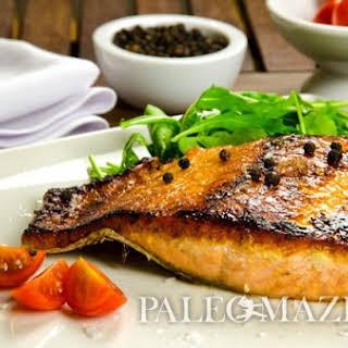 Paleo Maple Salmon Fillets.