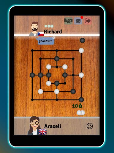 Mills | Nine Men's Morris - Free board game online apkslow screenshots 9