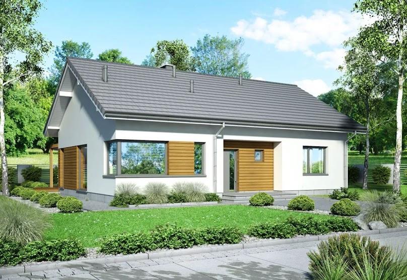 Projekt domu Mokka 2 modern