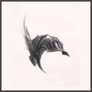 黒鷲の羽兜
