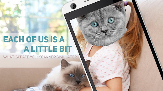 What Cat Are You: Scanner Simulator - náhled