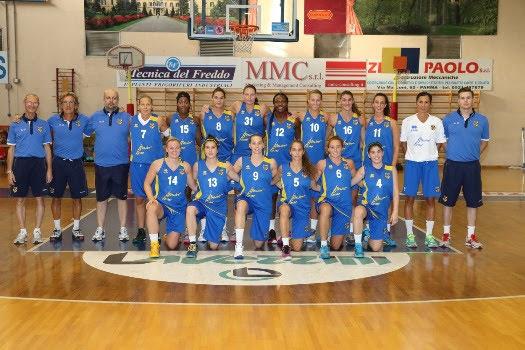 Prima amichevole del Lavezzini Basket Parma contro Broni 64-52 (35-20)