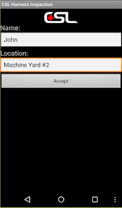 CSL Harness Inspection App screenshot 1