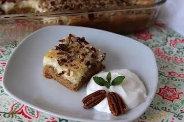 Butter Pecan Gooey Cake