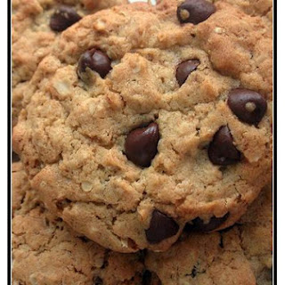 Large Chocolate Chip Oatmeal Cookies