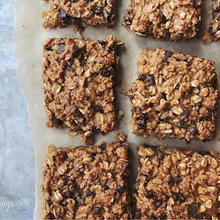 Coconut & Chocolate Chip Oatmeal Bars.