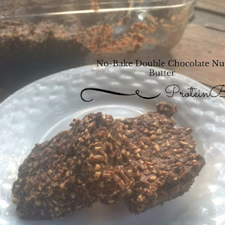 No-Bake Double Chocolate Nut Butter Protein Bars