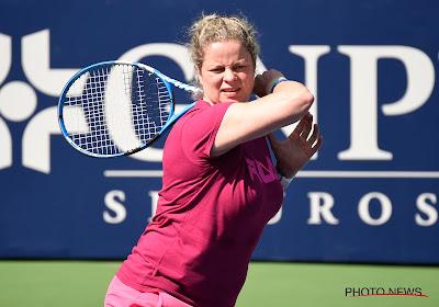 Kim Clijsters biedt weerwerk maar verliest exhibitiematch van US Open-winnares van 2017