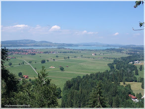 Photo: vistas desde el Castillo de Neuschwanstein ( Alemania) http://www.viajesenfamilia.it/