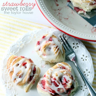 Strawberry Sweet Rolls.