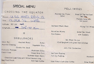 Photo: 1976 Crossing The Line Menu