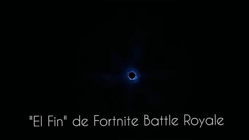 Un agujero negro es lo que queda del universo Fortnite... de momento.