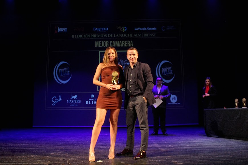 Galardonada en los Premios de la Noche Almeriense.