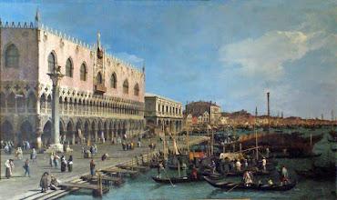 """Photo: Canaletto """"La Riva degli Schiavoni verso est"""" (1730 circa)"""