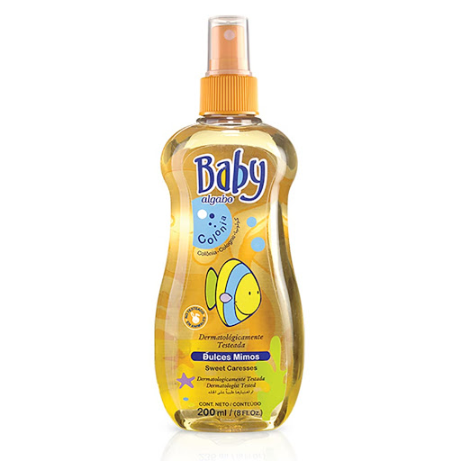colonia algabo baby dulces mimos 200ml