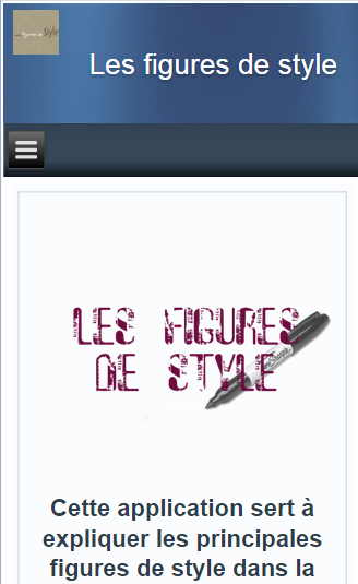 Les figures de style - Android Apps on Google Play