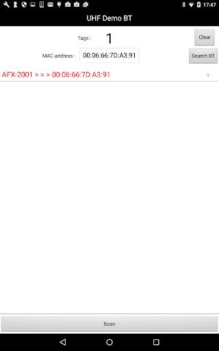 UHF Demo Bluetooth 1.2 Windows u7528 5