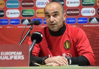 """Roberto Martinez: """"Ma plus grande crainte, c'est la façon dont on va débuter le match"""""""