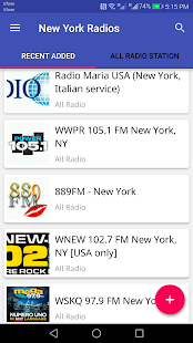 New York All Radio Stations - náhled