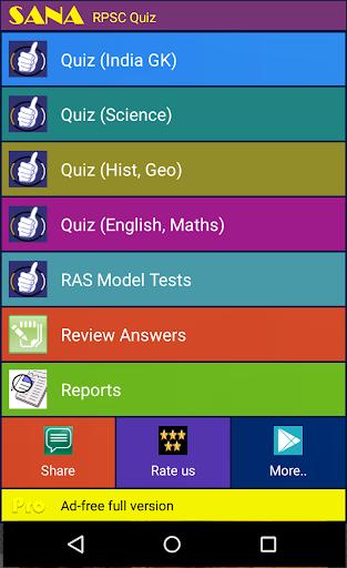 RAS RPSC Exam 2015