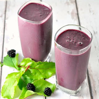 50 Shades of Purple Green Smoothie.
