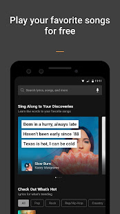 App SoundHound - Discover & Play Songs with Lyrics APK for Windows Phone