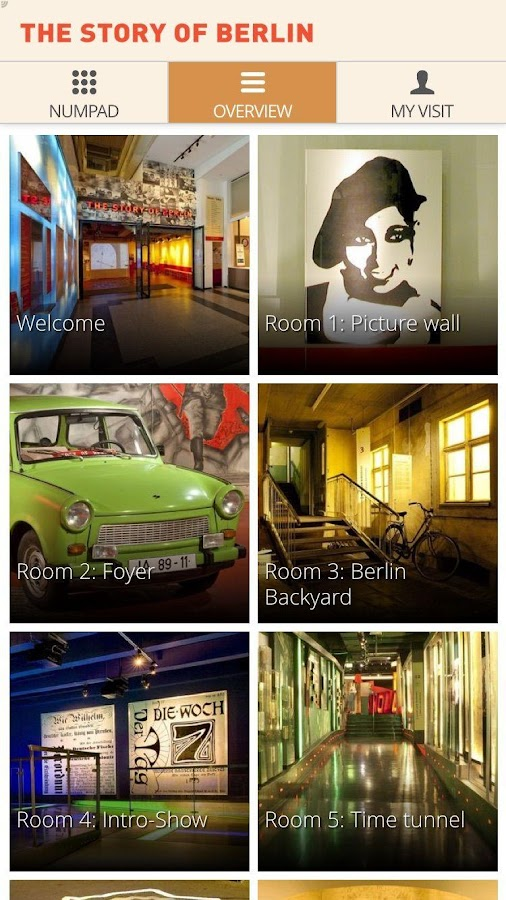 STORY OF BERLIN Guide App- screenshot