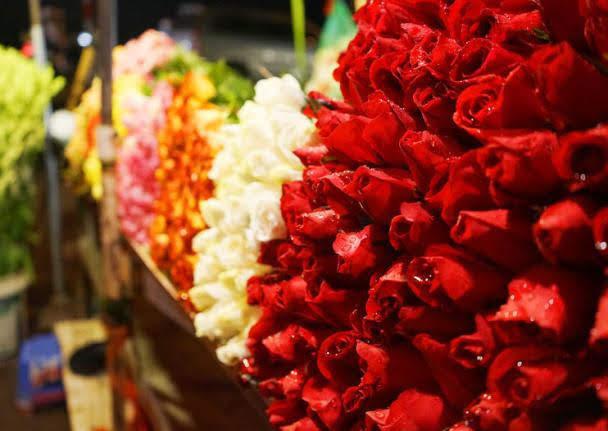 Mercado de Flores de Quang Ba