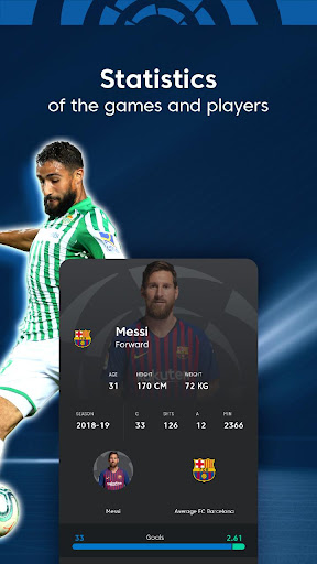 La Liga - Live Soccer Scores, Goals, Stats & News Screenshots 24