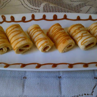 Mini Caramel Swiss Rolls