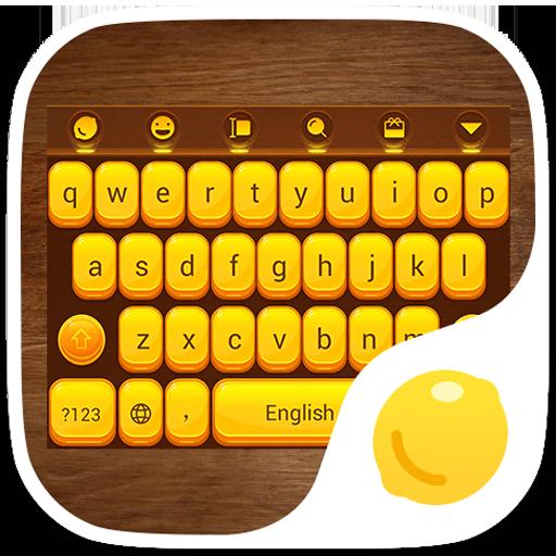 WoodenBox-Lemon Keyboard