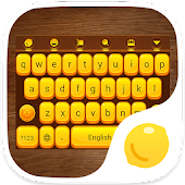 Wooden Box-Lemon Keyboard